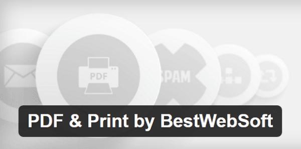 PDF & Print by BestWebSoft