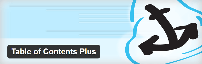 The Table of Contents Plus plugin.
