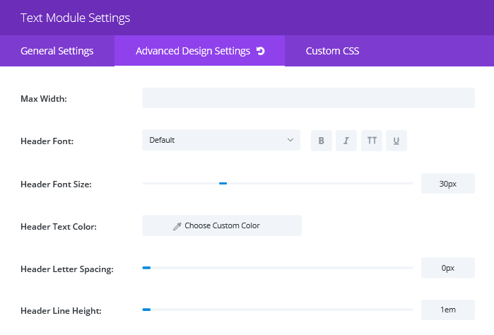 how to make a text wrapin divi