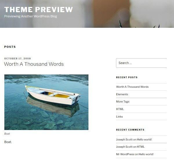 Twenty Seventeen: An Overview of the New Default WordPress Theme ...