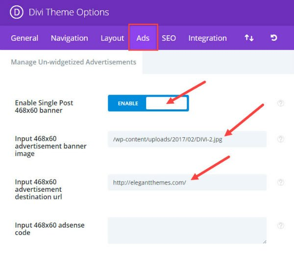 How to Insert Ads Above, Inside, and Below Your Divi Blog