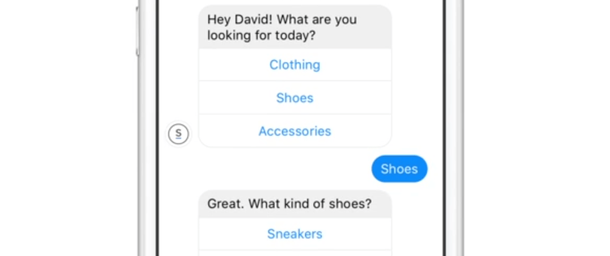 An example of a chatbot.
