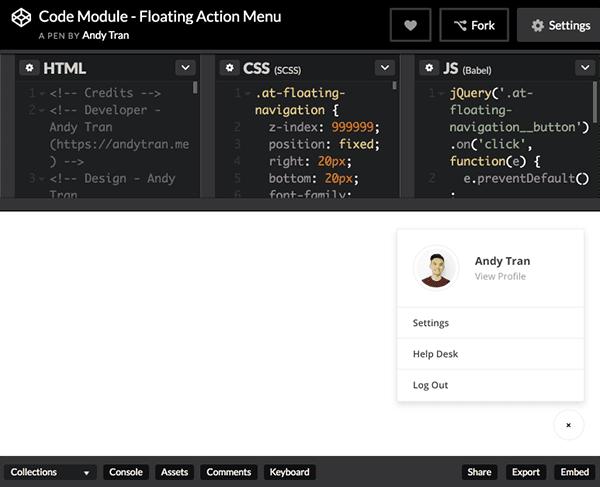 floating-action-menu-pen