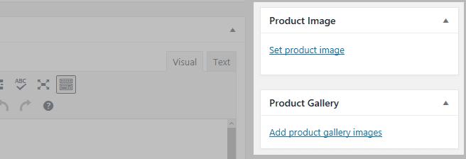 Sections de l'image du produit