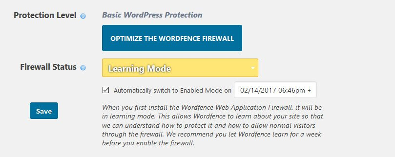 wordfence firewall
