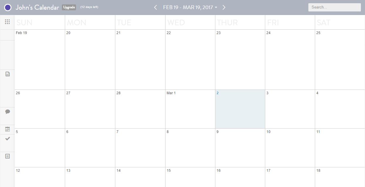 CoSchedule new calendar