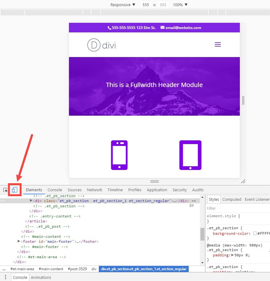How to Identify Divi's Responsive Breakpoints and Fine Tune Your