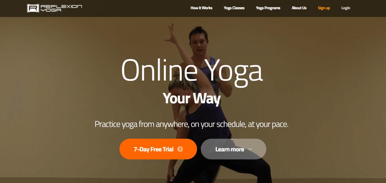A membership website example.