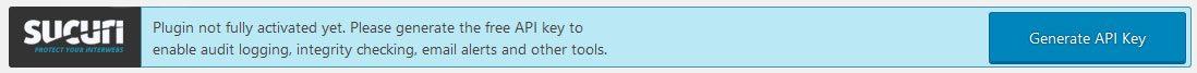 sucuri review API reminder