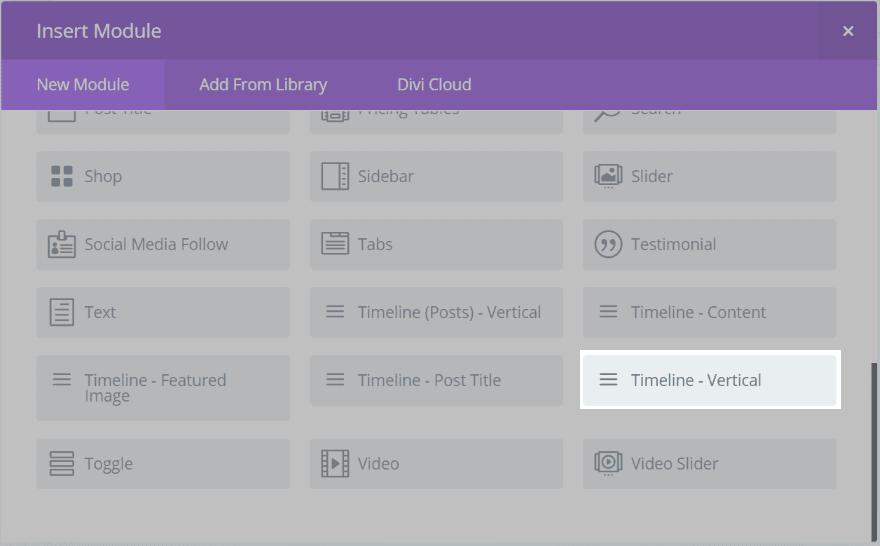 Divi Plugin Highlight – Divi Timeline Module | Elegant Themes Blog