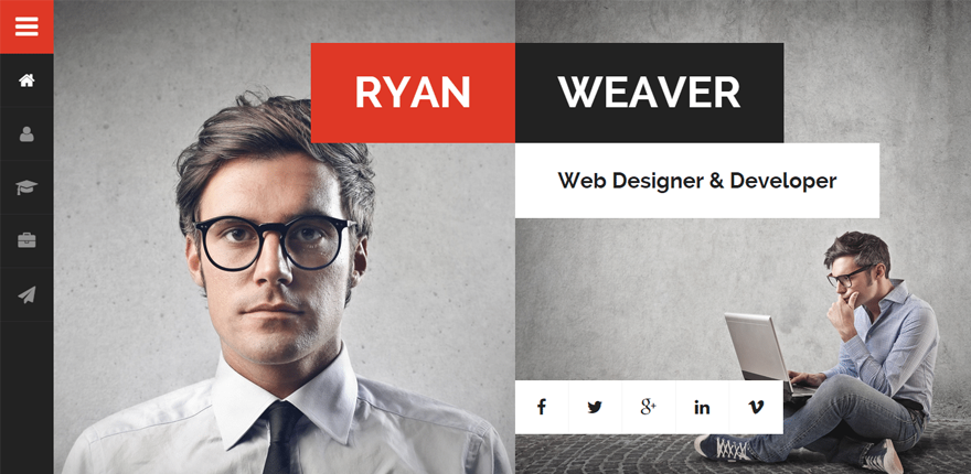 20  best vcard wordpress themes for creating an online