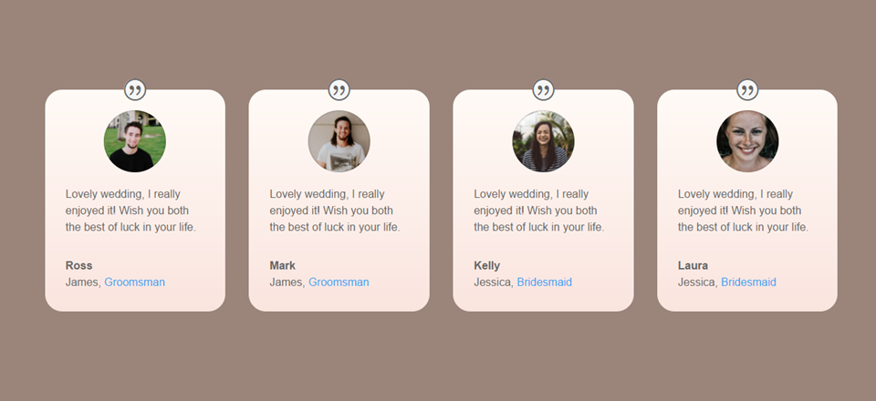 how to create an online guestbook for your wedding with divi auto testimonials