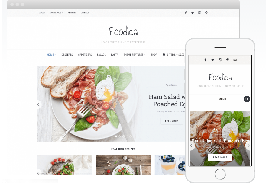 20+ Best Restaurant WordPress Themes for Foodies, Food