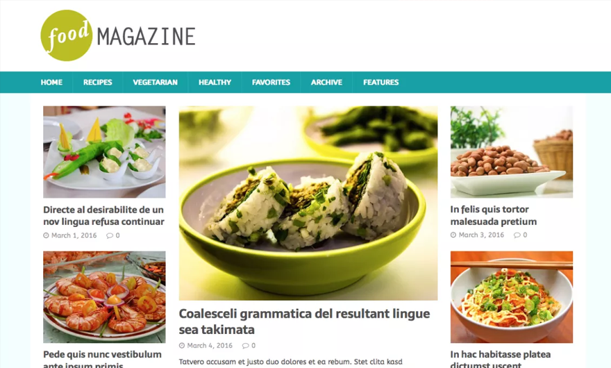20 best restaurant wordpress themes for foodies food trucks mh magazines d5 demo is great for anything related to food it has all the tools you need to create an awesome blog or network of blogs forumfinder Images