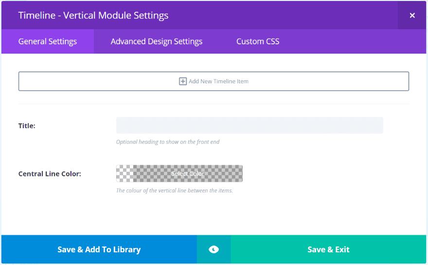 Divi Plugin Highlight – Divi Timeline Module | Elegant