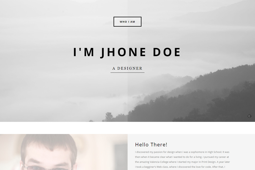 20 best vcard wordpress themes for creating an online resume in
