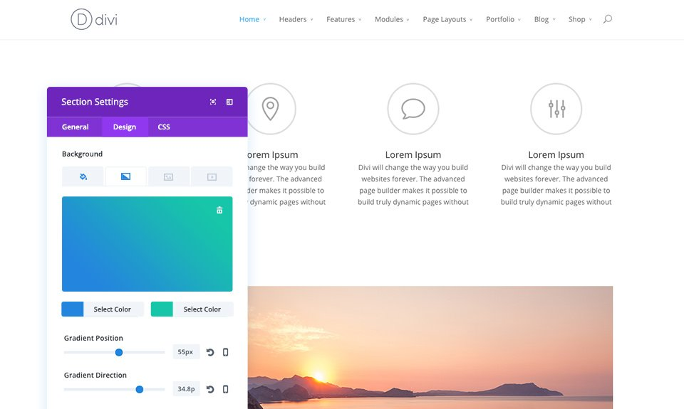 how to use divi builder in side a tab