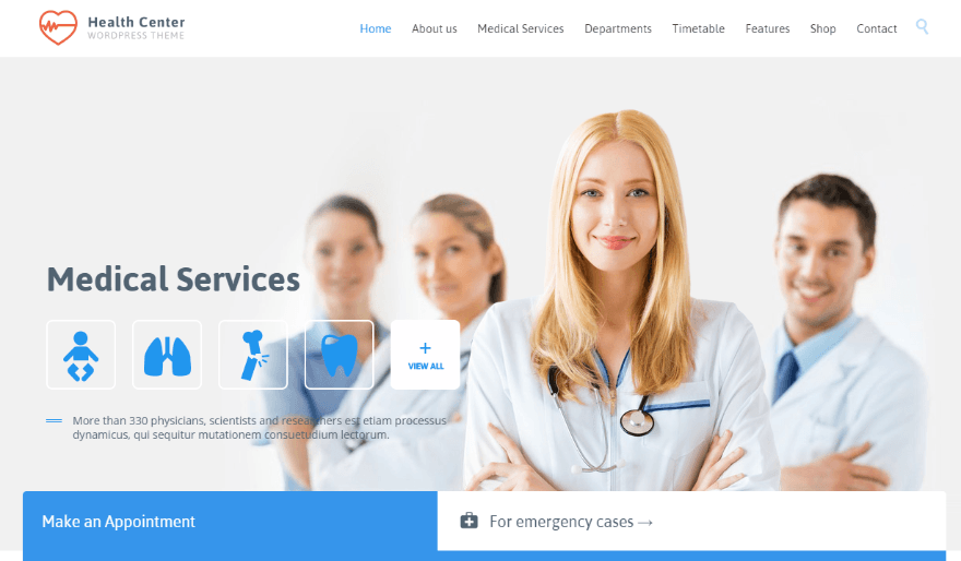 health themes for wordpress  20  Best Health