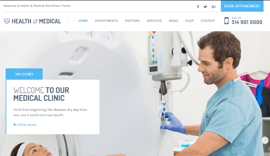 20+ Best Health & Medical WordPress Themes for Medical ...