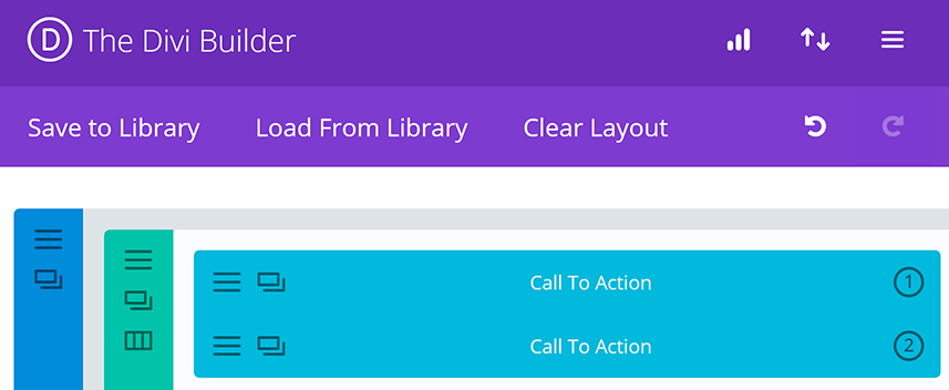 An example of a Divi Leads split test.