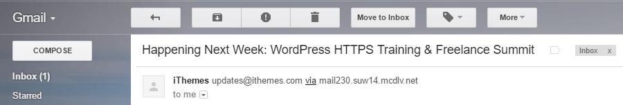 An example of an effective headline.