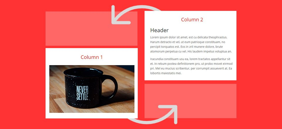 How To Adjust Divi's Column Stacking Order on Mobile Devices