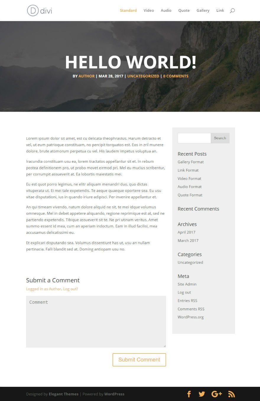Designed by elegant themes powered by wordpress - Pin It On Pinterest Elegant Themes