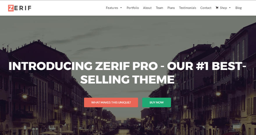 20+ Fantastic Flat Design WordPress Themes for Simple