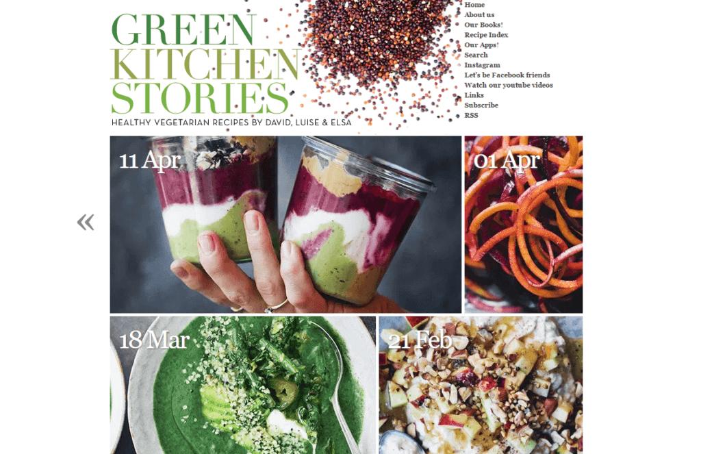 Green Kitchen Stories blog