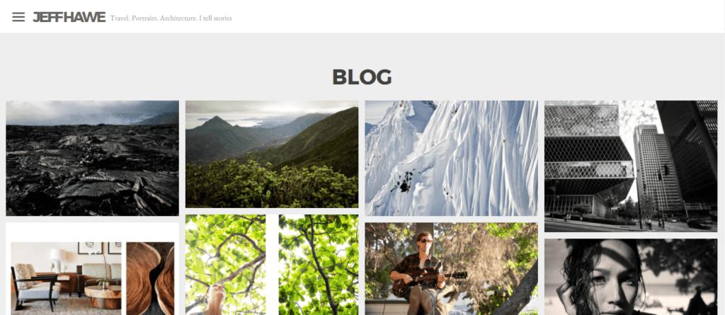 Jeff Hawe masonry style blog