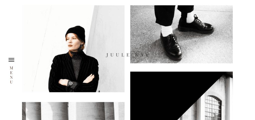 Juule Kay masonry style blog