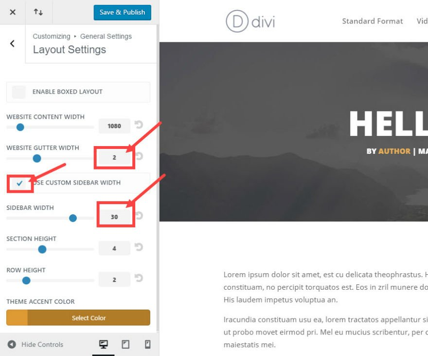 How to Add Custom Templates and Design to Divi's Blog Post