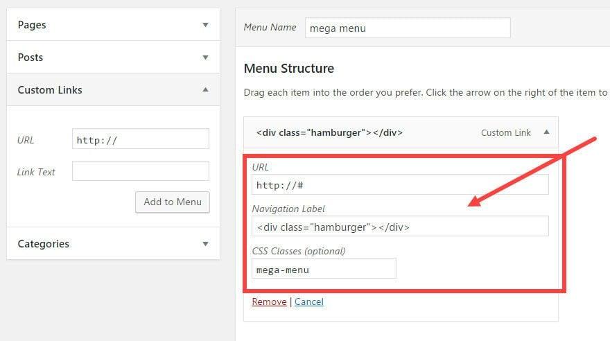 How to Create a Hamburger Icon for Your Divi Mega Menu   Elegant