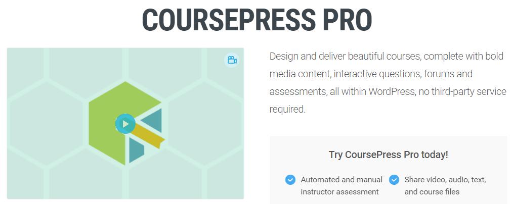 The CoursePress Pro plugin.