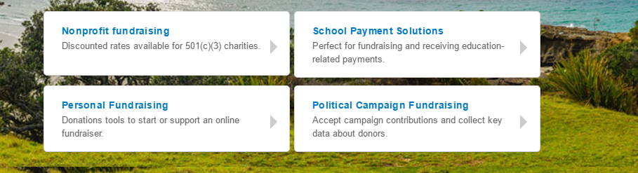 paypal fundraising options