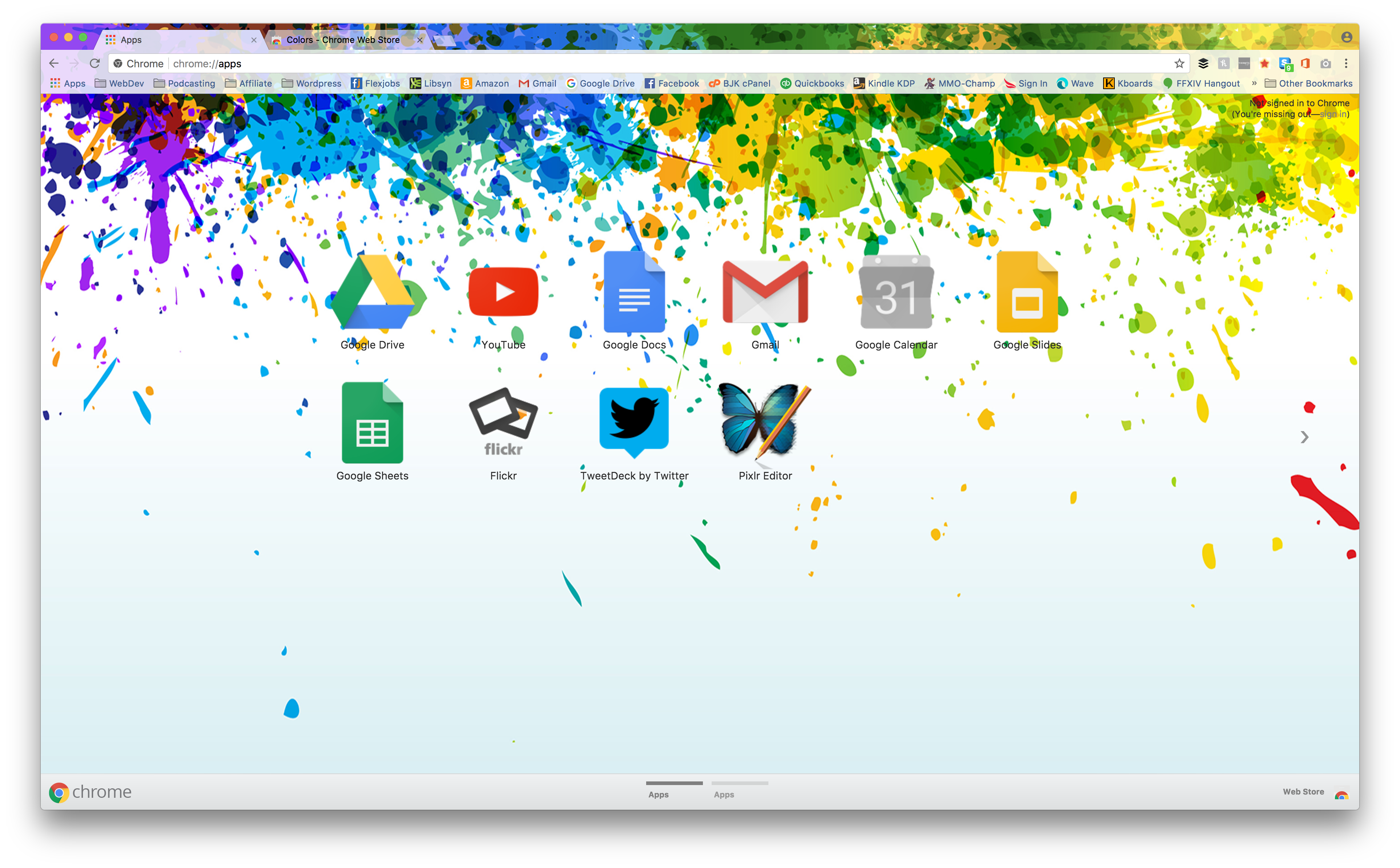style chrome with these 15 google themes for designers and