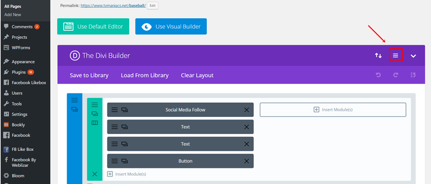 How to Make Your Divi Footer Fixed | Elegant Themes Blog