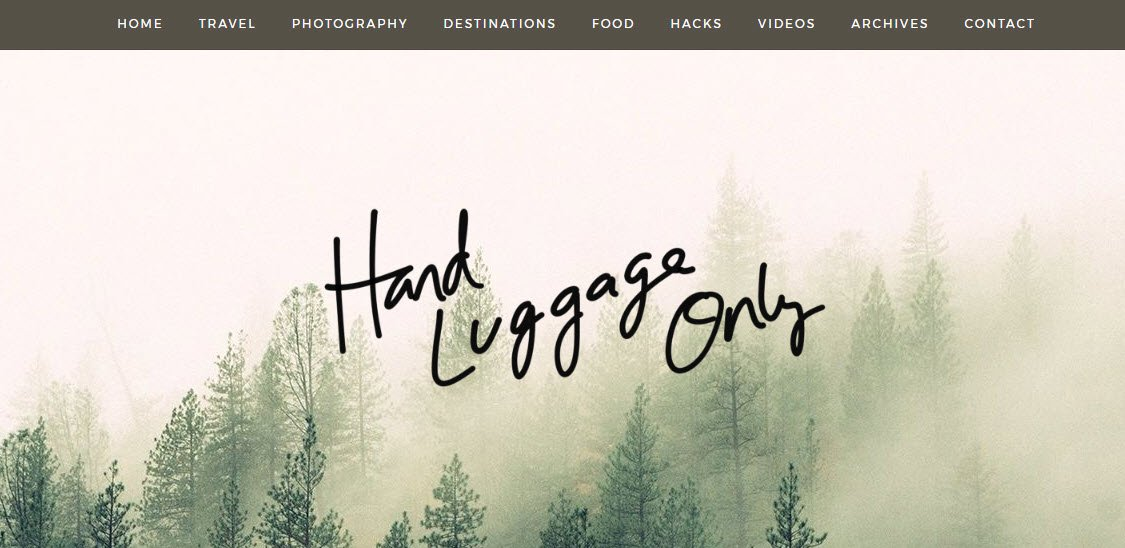 Travel Blogs - Hand Luggage Only