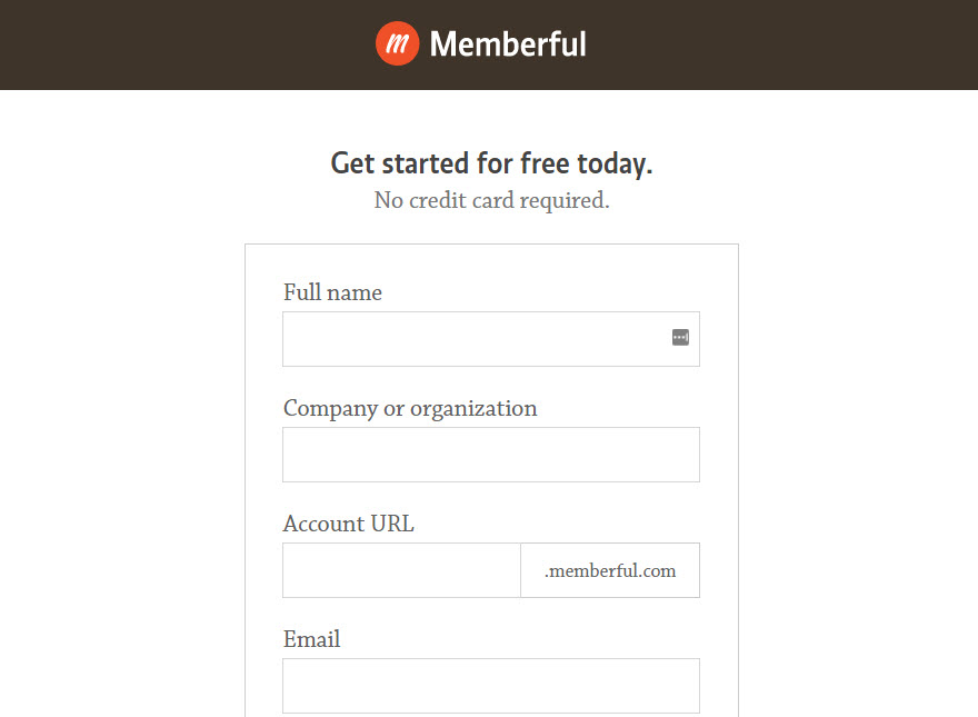 Memberful Signup