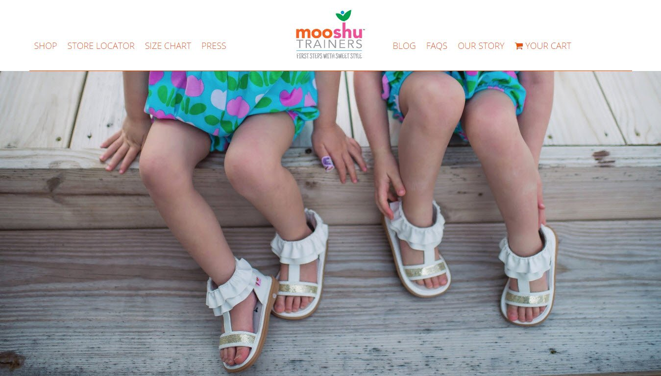 Shopping websites - Mooshu Trainers