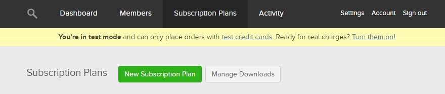 New Subscription Plans