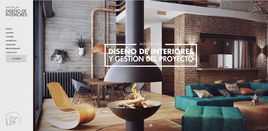 12 examples of divi s vertical navigation elegant themes for Master diseno de interiores
