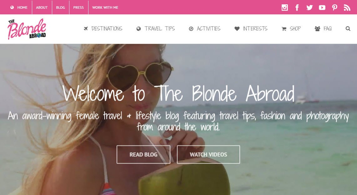 Travel Blogs - The Blonde Abroad