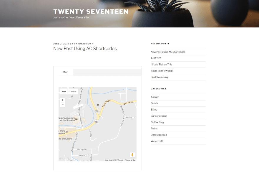 Divi plugin highlight ac shortcodes elegant themes blog - Divi map module ...