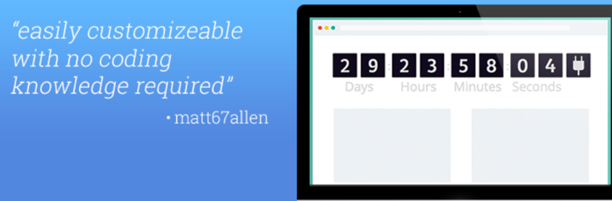 countdown by powr