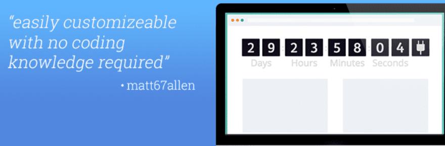 countdown by powr