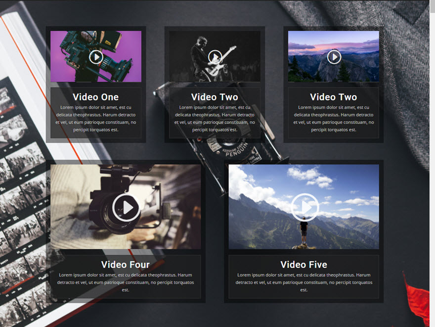 video grid