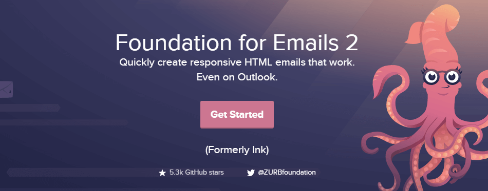 The Foundation for Emails homepage.