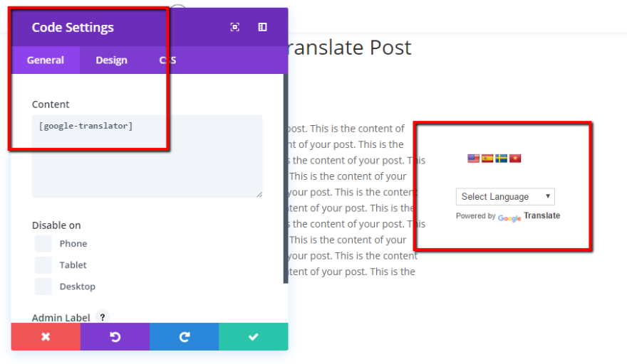 How to Add a Google Translate Button to WordPress | Elegant Themes Blog