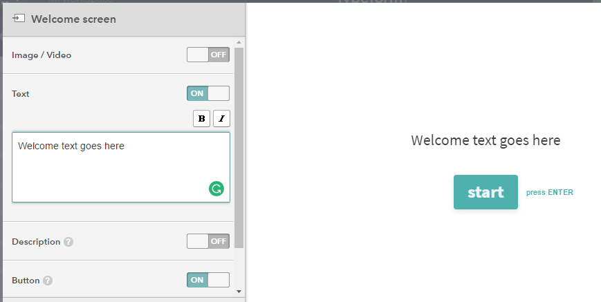 Customizing your welcome screen.